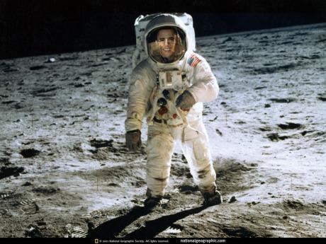 obama on moon