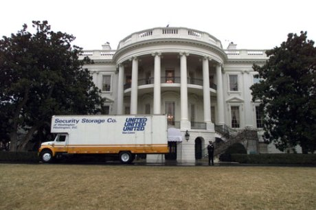 white-house-moving-van