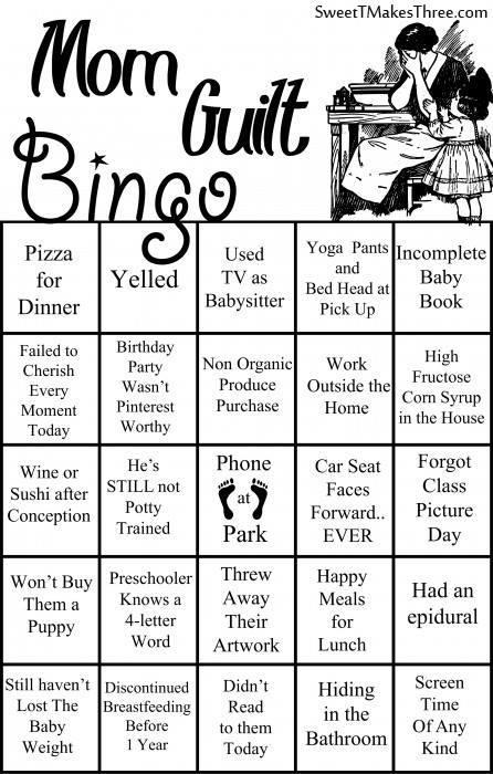 mom bingo
