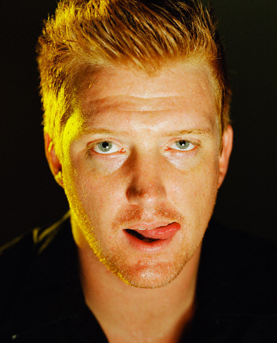 Musician Josh Homme of Queens of the Stone Age