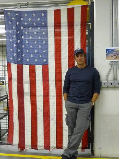 mike rowe flag