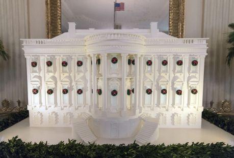 Trump White House Christmas, Washington, USA - 27 Nov 2017