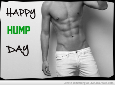 happy-hump-day for chicks