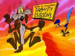 wile e coyote gravity