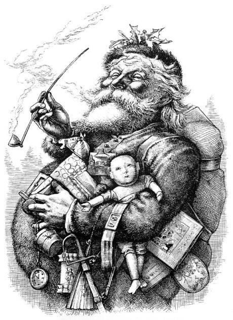 vintage-santa-1881-woodcut-print