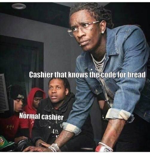 CashierThatKnowsTheCodeForBread