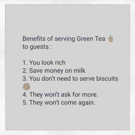 BenefitsOfServingGreenTea