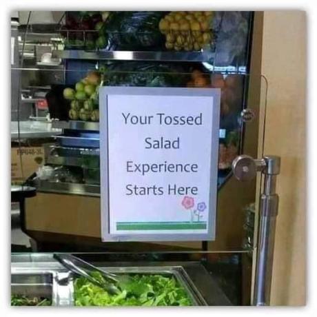 YourTossedSaladExperience