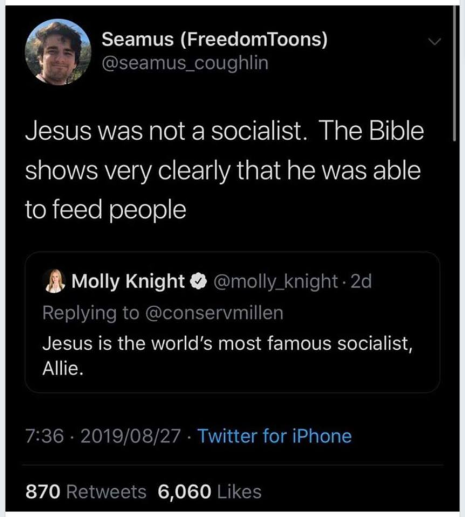 JesusWasNotASocialist